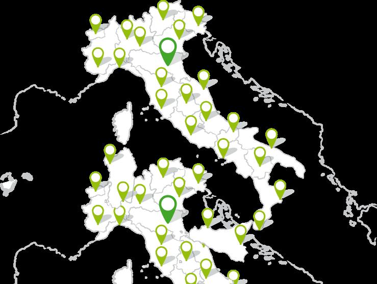 Italia verde rete ditribuzione